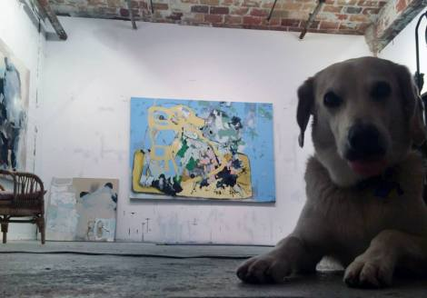 Anna Schuleit Haber: studio